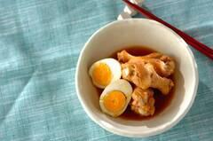 鶏手羽元とゆで卵のこってり煮