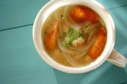 白インゲン豆のスープ