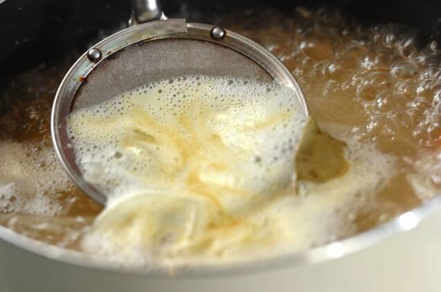 白インゲン豆のスープの作り方の手順2