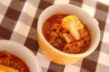 レンズ豆のスープ