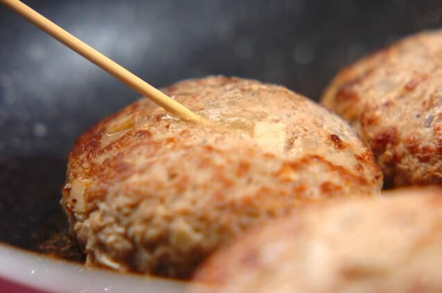 タケノコ入りおろしハンバーグの作り方の手順5