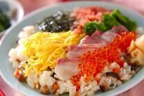 春のちらし寿司