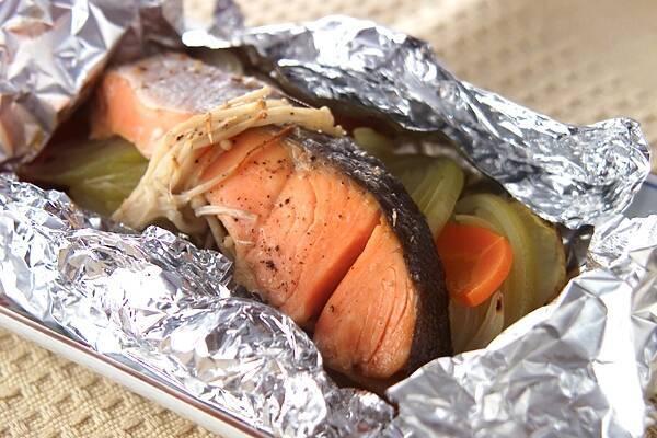 鮭のホイル焼きの作り方の手順8