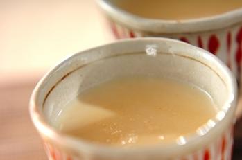 酒粕ときな粉のソイラテ