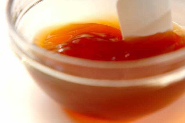 揚げシューマイの甘酢あんの作り方の手順1