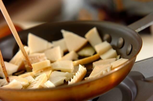 筍とフェタチーズのタルトの作り方の手順5