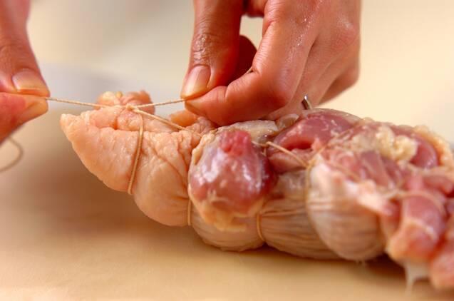 【紅茶鶏】鶏もも肉の紅茶煮の作り方の手順3