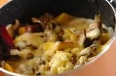 キノコとサツマイモのクリーム煮の作り方4