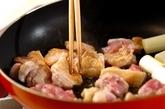 鶏南蛮そばの作り方2