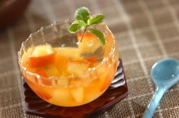 リンゴ酢ゼリー