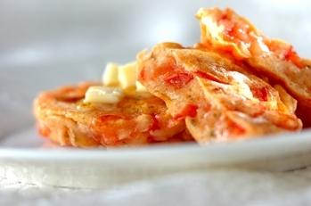 トマトのサレ・パンケーキ