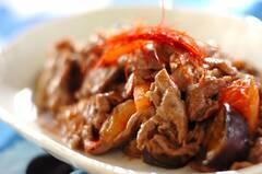 牛肉とトマトの炒め物