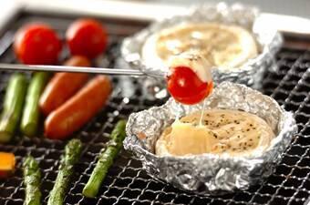 カマンベールでお手軽チーズフォンデュ