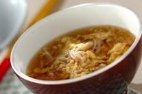 中華風かき玉スープ