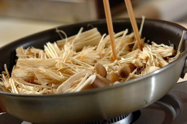 いろいろキノコの甘酢炒めの作り方の手順6