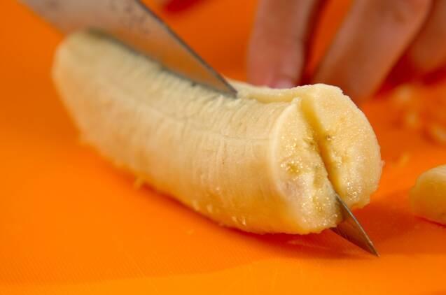バナナのバターソテーの作り方の手順1