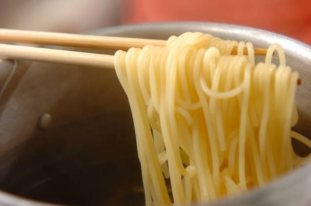簡単カルボナーラスパゲティーの作り方の手順4
