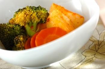 野菜のスパイス蒸し煮