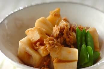 レンコンとツナの煮物