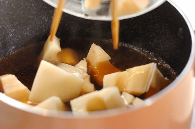 レンコンとツナの煮物の作り方の手順2