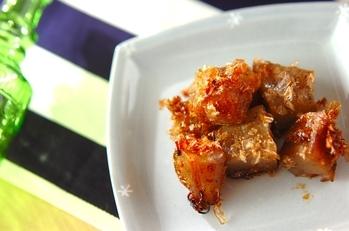 コンニャクの炒め物