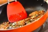 キムチとうどんのミニお好み焼き風の作り方3