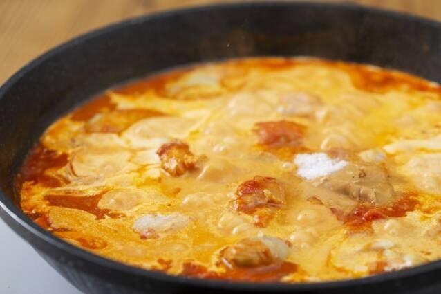 少ない材料で簡単!バターチキンカレーの作り方の手順6