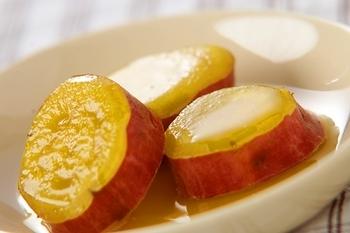 サツマイモのバター煮