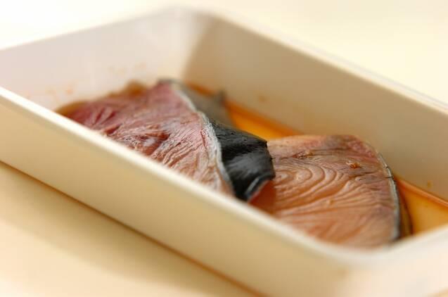 さっと作れるブリの照り焼きの作り方の手順3