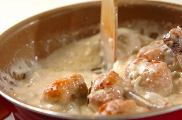 チキン・クリーム煮の作り方の手順4