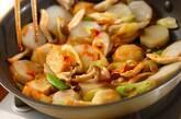 里芋のコチュジャン炒めの作り方3