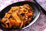 キムチと豚肉のサッパリ炒め