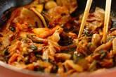 キムチと豚肉のサッパリ炒めの作り方2