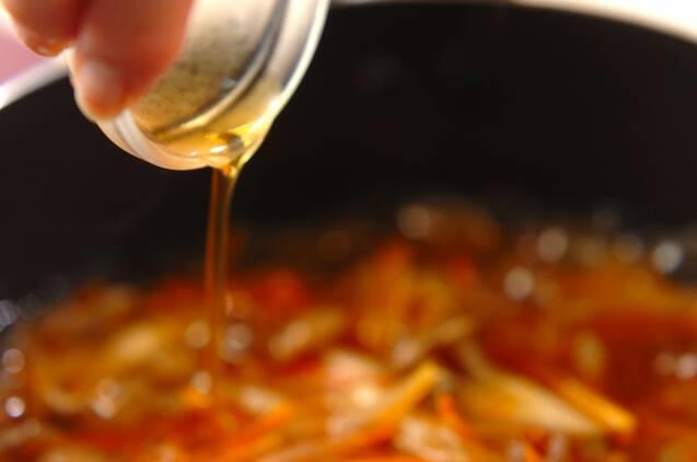 カレイの中華あんかけの作り方の手順4