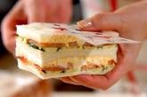 七夕短冊サンドイッチの作り方5