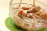 温かい豚しゃぶの作り方3