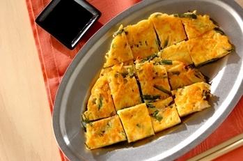 素麺チヂミ