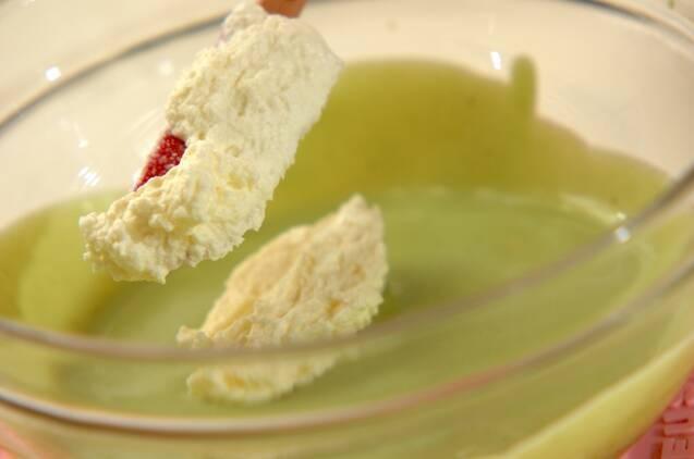 抹茶のレアチーズの作り方の手順7