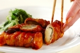 高野豆腐とナスの豚バラ巻きの作り方6