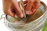 カキのガーリックオイル焼きの作り方1