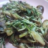 青菜のオイスター炒め
