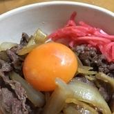 ササッと牛すき丼