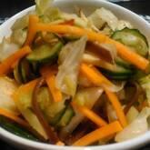 塩もみ野菜のミックス漬け