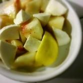 桃のカプレーゼ