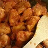 チキンのケチャップ焼き