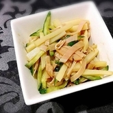 ジャガイモの中華サラダ