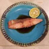 鮭のジンジャー照り焼き