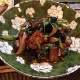 焼き豆腐のピリ辛みそ炒め