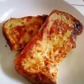 アーモンドミルクのフレンチトースト