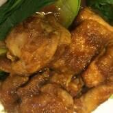 鶏肉のショウガ焼き